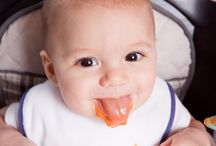 Feeding Baby  / At Your Baby's Start to Solid Foods (www.startbabyonsolids.com), you'll find answers on when to start feeding solid foods and how plus recipes and best feeding products.