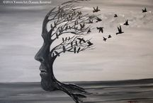 """Acrylic Paintings on Canvas / Acrylic on Canvas   (Gifts Ideas for Man and Women)  by YannisArt """"Yannis Koutras"""""""