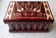 Magic puzzle boxes / Wooden magic secret wizard puzzle box