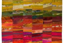 quilt inspiration / I quilt every day. It is the thing that makes my heart beat faster. I especially love art quilts and mixed media collage / by liz house