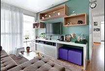 Decor - Sala estar/jantar / Salas para apertamentos