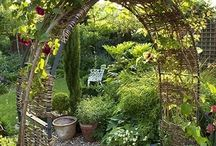 Fairy garden arch