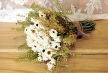 Flower ideas for wedding / Wedding flower ideas : dried flowers