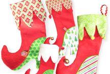 Weihnachts stiefeln