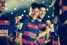 Neymar Jr , Rafinha , Luis i Arda Turan