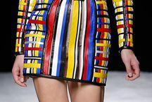L'inspiration mondrian dans la mode