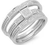Spectacular Trio Wedding Ring Sets