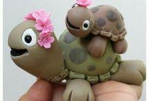 Želví dort