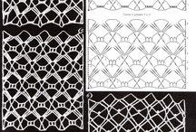 trabalhos em crochet