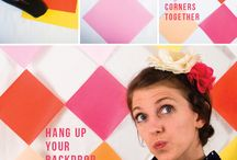 photo booth + party ideas