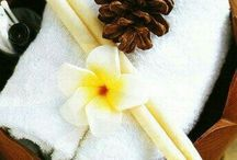 Ear Candeling / Ancient art using a specially made bees wax candle which is held gently in the ear that creates a vacuum, beneficial for sinus irritations and wax build up.