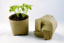 Ideias com rolos de papel higienico / DIY sobre ideias com rolos de papel higiênico na decoração da casa.