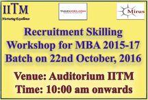 MBA Workshop