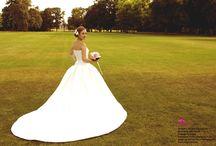 Beautiful dress / Beautiful wedding dress. Photo by ocarujuca.sk