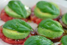 Мини-бутерброд из овощей