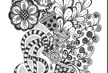 Zentangle and Drawing Inspiration