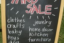 Yard sale stuff