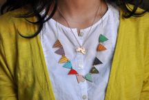 Jewelry - necklaces / by Emily Reed