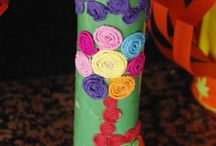 Flower vases / Things made from  recyclabe materials