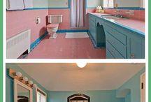 Homes - Bathrooms Retro