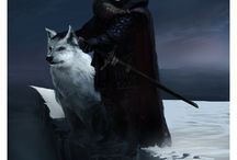 A Song Of Ice And Fire / Pictures inspired by the series of novels by George R.R. Martin. / by Nur Hussein
