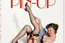 Pin.up / Jolies jeunes femmes .