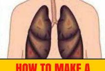 Lungen reinigen