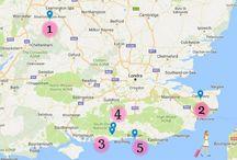 Deliziosa Inghilterra: i borghi vicino a Londra / I villaggi più romantici tra West Sussex e Kent, nel sud dell'Inghilterra, a poche ore di auto da Londra. http://www.thegirlwiththesuitcase.com/2017/02/deliziosa-inghilterra-borghi-piu-affascinanti-nei-dintorni-londra.html