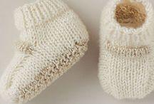 layette tricot bébé / pour un nouveau né