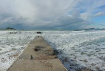 Stormy weather in Corfu / The best weather around here is when it's stormy, but don't tell the tourists!