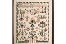 Cross-stitch and other samplers / by Annette Stephenson