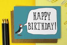 Happy Birthday!! / Colourful and bright Birthday inspiration!