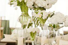 White wedding designs