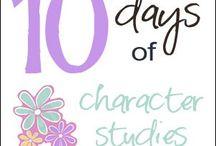 Homeschool - Character Studies / by Melissa Conklin