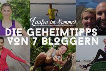 Laufen im Sommer / Hole Dir die besten Trainings-Tipps fürs Laufen im Sommer auf www.gogirlrun.de