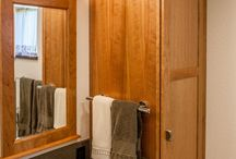 NATURAL BEAUTY / These bathrooms pay homage to natural wood in all its glory