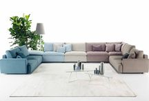 "New sofa collection 2015 / Ecléctico, Monolith and Kanaha are the new sofas collection from Ditre Italia. Made of high-quality materials and crafted in trend-setting shapes, the new collection, called ""Designwear,"" represents a new design philosophy for DiTre Italia. / by Ditre Italia"