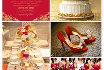 Sisanas' wedding ideas (red, white and gold color scheme) / Planning my sister in laws wedding.....yay ;) / by Fundie Mhlongo