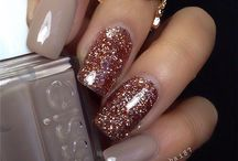 **Glitter NAIL ART DESIGNS** / **LOOVEEE GLITTERING NAILS**