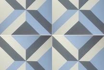 Azulejos / Mosaicos de cemento Baldosas hidraulicas Pisos de cemento Azulejos