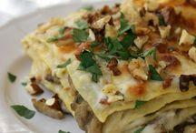 Lasagne e pasta ripiena