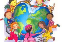 děti, kamarádi, rodina