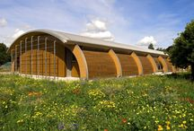 Sustainability / Award-winning low energy and efficient designs in business, gardens, university's and visitor centres.
