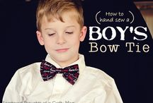 Sew a Bow...Tie