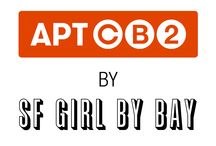 APT CB2 - sf girl by bay / Vote for your favorite CB2 product as SF GIRL BY BAY transforms her L.A. apartment studio. Every day for seven days, she will add a new product to the room chosen by you on Instagram. Stay tune for FINAL ROOM REVEAL this Friday, August 14.