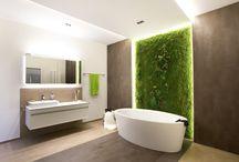 Bathroom / Das Bad: Der Raum in dem Design lebendig wird.