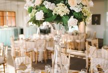 Centerpieces / Each one creates a different atmosphere
