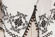 クロス刺繍