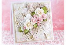 Shabby chic card tutorials