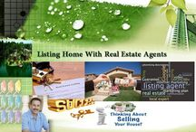 Listing Home With Real Estate Agents